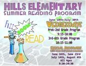 Hills Summer Reading Program