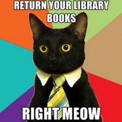 Friday, May 13 : Library Books Due