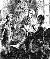 Дядя Александра, уговаривает отца
