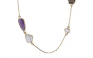 Pippa Necklace in Purple, $69