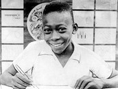 Pele Signing His First Pro Contract at 15