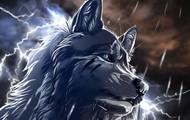 Animated wolf
