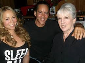 Mariah Carey and her parents