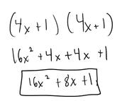 Binomial By Binomial Using FOIL