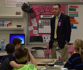 Former US Attorney/FBI Special Agent visits Buckingham 5th Grade Class