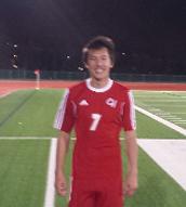 James Tanaka – Varsity Senior, defender
