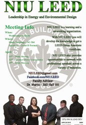 New NIU LEED Student Group