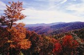 Appalachian Mountains in Fall