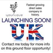 United Kingdom Expansion Launch!