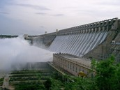 A Hydro-Electric Power Station on the Krishna River