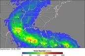 Rainfall map
