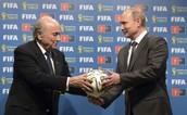 PUTING Y EL PRESIDENTE DE LA FIFA