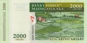 2000 Malagasy Ariary