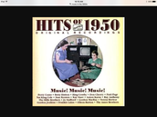What kind of music did they listen to in the 1950s ?