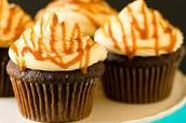 Taste the Caramel De-Lites Cupcakes!