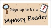 Mystery Readers Needed for End of January!