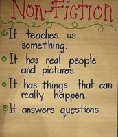 What is a nonfiction text?