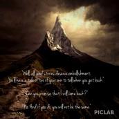 Gandalf and Bilbo: