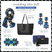September Trunk Show Exclusive Offers