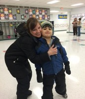 Mrs. Goulet and Aidan