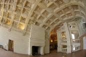 Interior of Chateau De Chambord