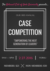3rd Annual Case Competition