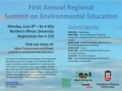 First Annual Regional Summit on Environmental Education