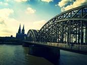 Am morgen gehen wir zum Hohenzollernbrücke