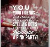 Stella&Dot Pink Party