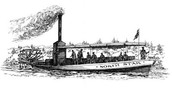 History of Steamboats and Relation to North Dakota