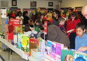 Shop Our Scholastic Bookfair!   The library's only fundraiser.