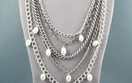 Avery Pearls & Chains $40