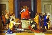 שמואל מנסה לשנות את דעת העם ופונה אליהם עם משפט המלך: