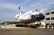 The Shuttle Back On Earth