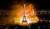 Eifel tower 4th of july