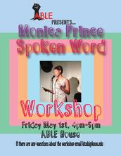 A.B.L.E Week: Spoken Word Workshop with Monica Prince
