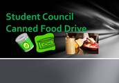 CANNED FOOD DRIVES