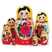 This is set of Russian Nesting Dolls
