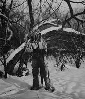 Ojibwe Man In Biboon