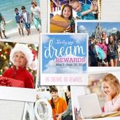 DREAM REWARDS just announced!
