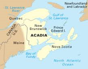 the French ownership of Acadia