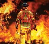 Municipal fire fighters