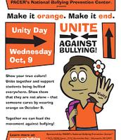 Wear Orange on Wednesday, October 19, 2016