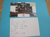 Sample Postcard From 1A