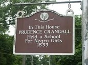 Prudence Crandall Museuem Sign