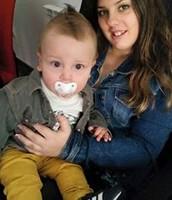 MI NIÑO GARY (el bebé)  Y YO