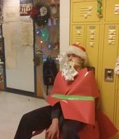 Ms. Varrone-Lederle's very own Santa Claus!
