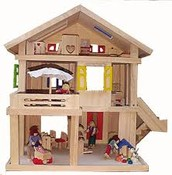 A toy house