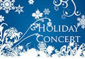Holiday Concert is set for 12-18
