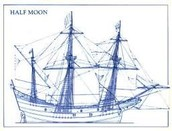 The type of ship Henry Hudson sailed